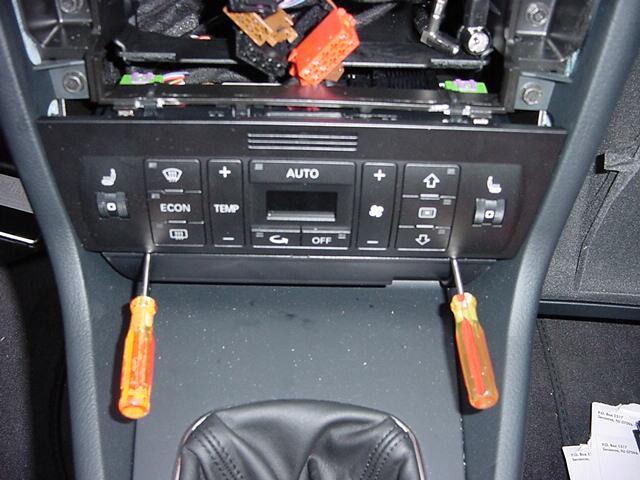 Anybody Know How Remove Trim Around Radio Climate Control 1538426on Yellow Audi S4